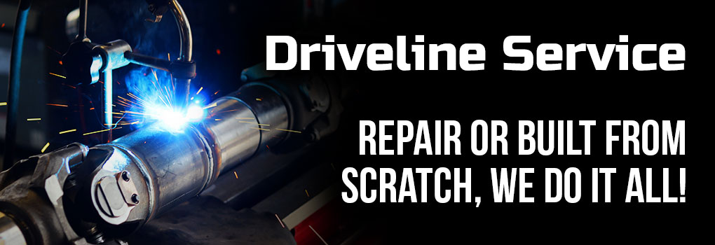 Driveline Services Advertisement