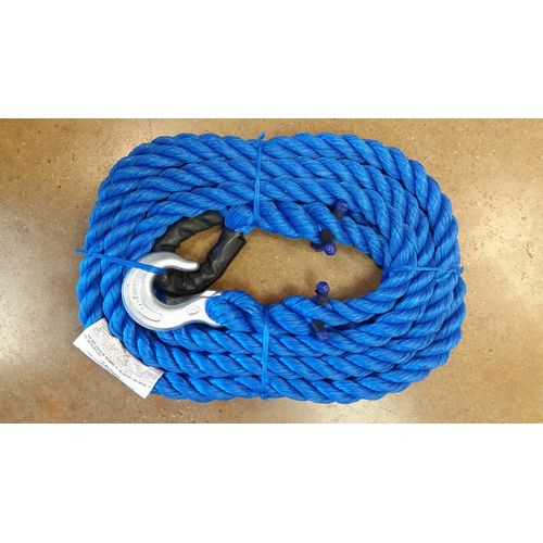 12,500 LB TOW ROPE 20 FT W/ Image