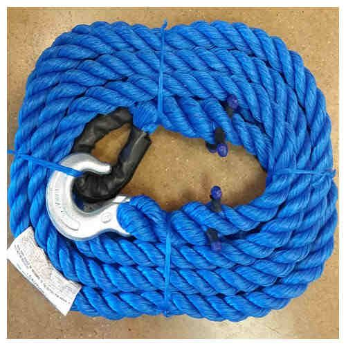25,000 LB TOW ROPE 20 FT W/1 Image