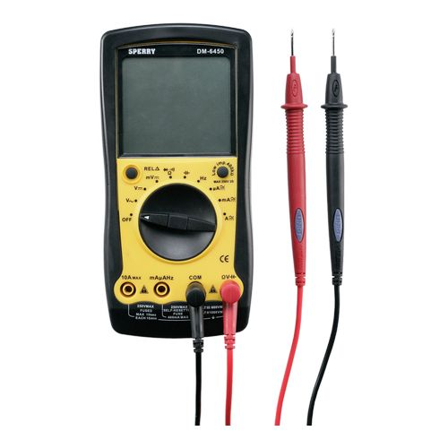 DIGITAL MULTIMETER, AUTORANGE, 9 Image