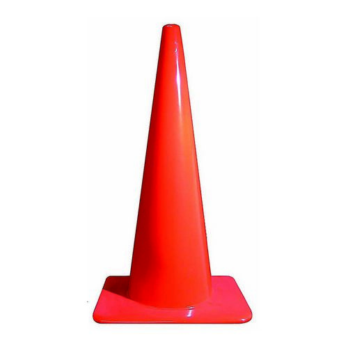 FLUORESCENT TRAFFIC CONE Image