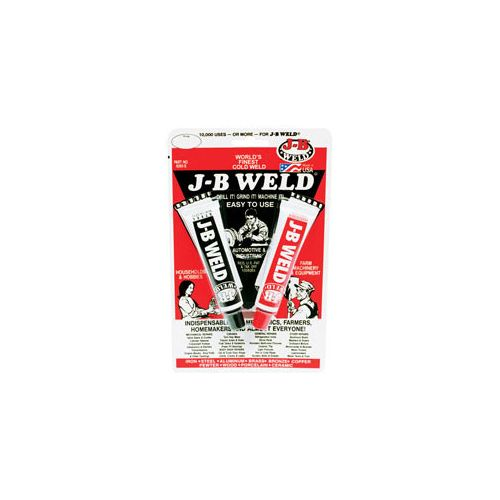 COLD WELD COMPOUND WITH 1OZ. STEEL & Image