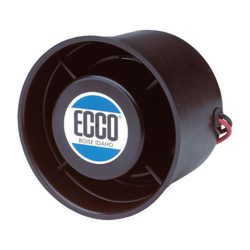 Ecco 450 112 Decibel Reverse Grommet Mount Vehicle Back Up Alarm Image