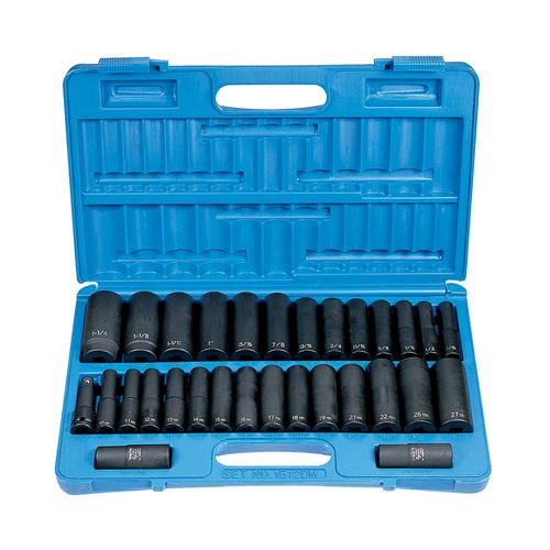 SOCKET SET 1/2 DRIVE 30 PIECE Image