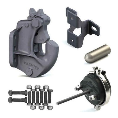 Premier 2300 Pintle Hitch Coupling - 100,000 lbs Capacity alternate image